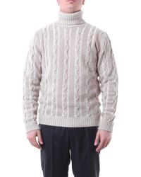 Jeordie's Rope-colored Turtleneck - Multicolour
