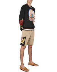 Dolce & Gabbana Shorts In Beige - Natural