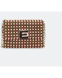 Essentiel Antwerp Antwerp Azissi Beaded Mini Bag - Pink