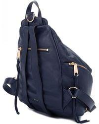 Rebecca Minkoff Medium Julian Backpack Twilight - Blue