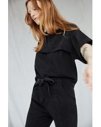Eve Gravel Ever After Top In - Black
