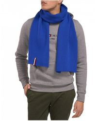 6fe1395ab78b9 Tommy Hilfiger Global Stripe Ribbed Scarf in Gray for Men - Lyst