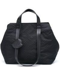 Moncler Women's 5d6010002sa0999 Black Polyester Handbag