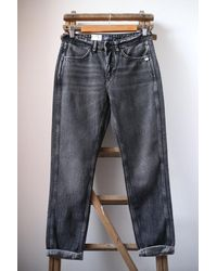 Scotch & Soda The Keeper Better Black Mid Rise Slim Fit Jeans