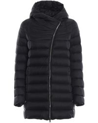 Colmar Place Black Puffer Hooded Short Coat In Black