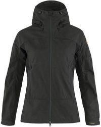 Fjallraven Fjallraven Abisko Lite Trekking Jacket Dark Grey / - Black