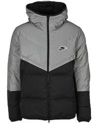 Nike Windrunner Down Jacket - Gray