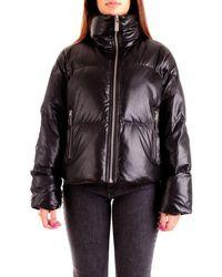 Michael Kors Women's Mf02j43fly001 Black Polyamide Down Jacket