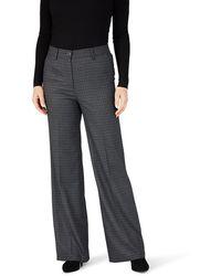 Gardeur Ladies Denise Tapered Jersey Trouser - Grey