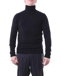 Jeordie's Knitwear High Neck - Black