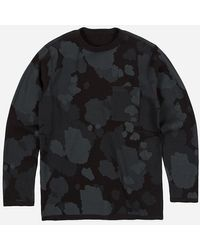 Maharishi Reversible Camo L/s T-shirt | - Grey