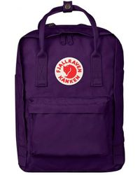Fjallraven - Fjallraven Kanken Laptop 17 Purple - Lyst