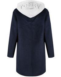 Tommy Hilfiger - Women's Ivo Hooded Wool Coat - Lyst