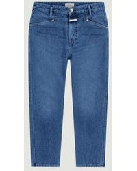 Closed Jean X-lent Tapered Mid - Blue