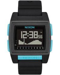 Nixon Base Tide Pro Watch - All /blue - Black