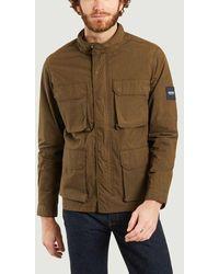 Aigle Waterproof Jacket Nori - Brown