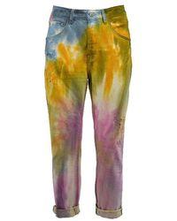 Berna Colour Cotton Jeans - Multicolour
