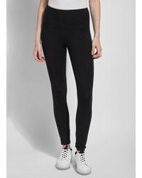 Lyssé Flattering Cotton leggings - Black