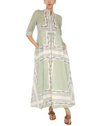 Tory Burch Cotton Voile Chemisier - Green