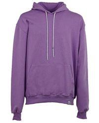 Berna Cotton Sweatshirt - Purple