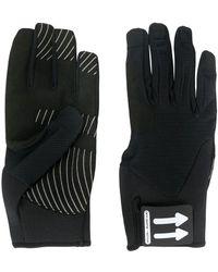 Off-White c/o Virgil Abloh Active Logo Gloves - Black