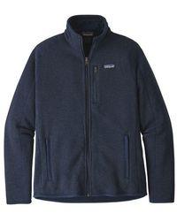 Patagonia Better Sweater Jkt Jersey - New Navy - Blue