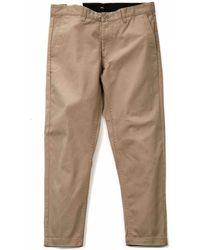 Obey Clothing Straggler Flood Pant - Brown