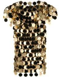 Paco Rabanne Women's 19aito010ps0133p710 Gold Plastic Top - Metallic