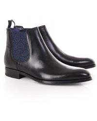 Ted Baker Mens Travic Classic Chelsea Boot - Black