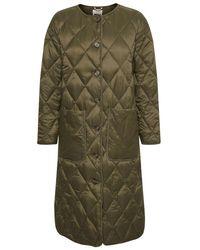Part Two Eleonora Khaki Padded Coat - Green
