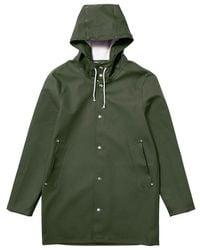 Stutterheim Stockholm Raincoat By - Green