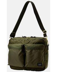 Porter Porter Yoshida & Co Force Shoulder Bag - Olive Drab - Green