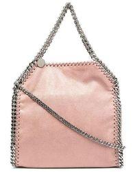 Stella McCartney - Women's 371223w91325702 Pink Polyester Handbag - Lyst