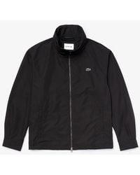 Lacoste Hooded Jacket - Navy - Blue