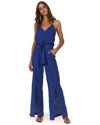 ViX Klein Nora Jumpsuit - Blue