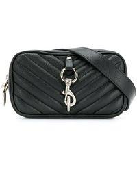 Rebecca Minkoff Quilted Camera Belt Bag - Black