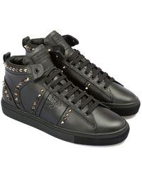 Versace Studded Boot - Black