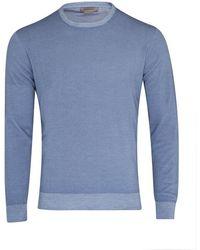 Corneliani Virgin Wool Sweater (blue)
