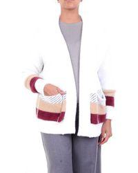 ACTUALEE Knitwear Cardigan - White
