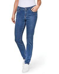 Gardeur Ladies Zuri109 Air Trip Denim Jeans - Blue