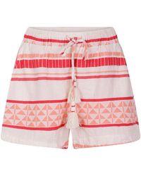 Pearl & Caviar Zakar Shorts Orange/red - Pink