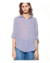 Sundry Stars Shirt Blue