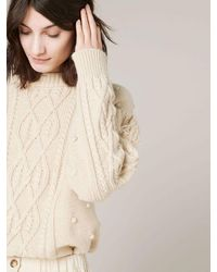 Sessun Cork Knit - Natural