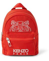 "KENZO ""kampus"" Mini Rucksack - Red"