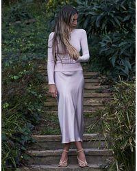 SABLYN Blushing Miranda Midi Skirt - Pink