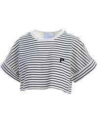 Philosophy - Women's A070107461555 Blue Cotton T-shirt - Lyst
