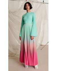 Solace London Eden Dress Mint - Green