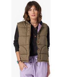 Xirena The Hunter Puffer Vest In Joshua - Green