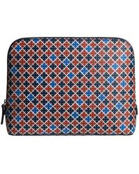 By Malene Birger Bae Cosmetic Case - Red Clay - Blue