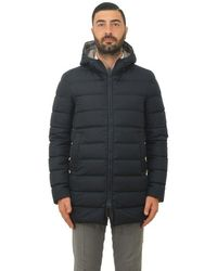 Herno Jacket Man Pi0570u 12004 9200 Blue